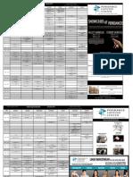 Peridance Open Class Schedule
