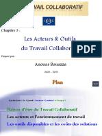 Chapitre 3 - Les Acteurs & Outils du Travail Collaboratif