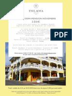 Offre Demi Pension Hotel Le Tsilaosa Et Spa Novembre