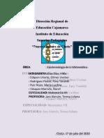 GRUPO#1-SEMANA 13 - EPISTEMOLOGÍA Y CURRICULO