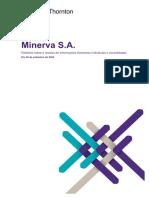 Informações Financeiras Do Resultado Da Minerva Do 3t20