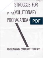 RCT, The Struggle for a Revolutionary Propaganda Group, October 1977