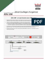 DORMA_UGIS XDU_256_Fiche produit_09-2014