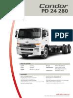Condor PD 24 280 Spec Sheet