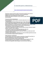 Tratamente naturiste pentru endometrioza
