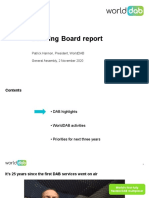 WorldDAB GA 2020 Patrick Hannon SB Report
