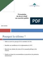 Presentation Décret Mp Trésoriers Mai 2013