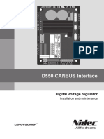 CANBUS Interface D550