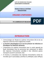 Organes lymphoidesAMROUN