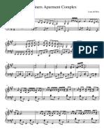 Lana Del Rey - Mariners Apartament Complex piano sheet