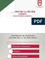 Presentacion Centro de la Mujer Liwen SERVICIO DE SALUD
