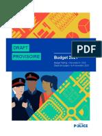 2021 Ottawa Police Services Draft Budget