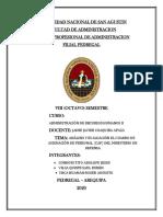 Analisi del CAP del Ministerio de Defensa