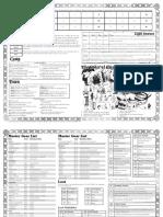 Torchbearer - GM Sheet