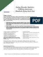 Eating Disorders Factsheet Million