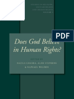 does god believe in human rights