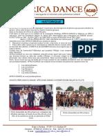 PRESS BOOK AFRICA DANCE