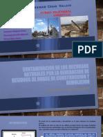 CONTAMINACION DE LOS RECURSOS NATURALES POR LA GENERACION DE RESIDUOS