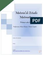 2019 Material de estudio Matemática nueva version