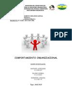 comportmiento organizaonal trabajo