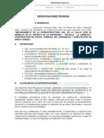 ESPECIFICACIONES TECNICAS- LAS PALMERAS.doc