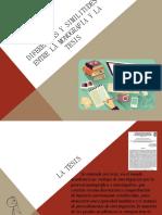 Diferencias y similitudes entre la monografía y la.pptx
