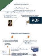 Classement des photodétecteurs