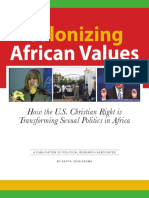Colonizing African Values Pra