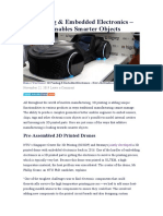 3D Printing & Embedded Electronics