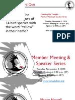 WCAS Member Mtg and Speaker Program Slides 11032020
