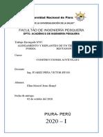 INFORME PRACTICA N°05 -CONSTRUCCIONES ACUICOLAS I - JHANYL MOSCOL