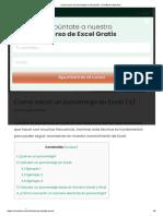 Como sacar un porcentaje en Excel (%) - El método más fácil.pdf