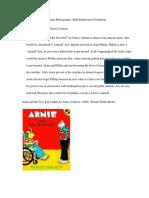 annotated bibliogrgaohy 4340