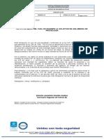 AUTO DE INADMISION MP 21 de OCTUBRE 2020