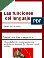 Funciones del lenguaje con imágenes