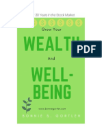 Grow Your Wealth and Well Being