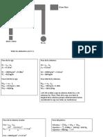 Ejercicio de determinar peso total del portico
