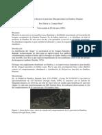 Comportamiento de Dasyprocta Punctata en Gamboa Panama. Por Cornejo E.