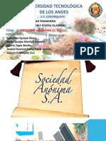Contabilidad financiera SOCIEDAD ANONIMA S.A.