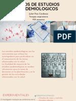 TIPO DE ESTUDIOS EPIDEMIOLOGICOS