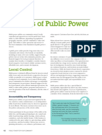 Municipalization-benefits of Public Power