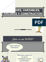 variables- MEDICION