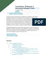 Geografía Económica w