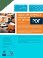 La revolución industrial 4.0 CEPAL