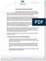 10 point wp hardening checklist