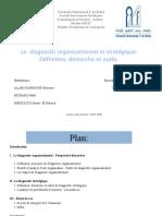 diagnostic organisationnel et stratégique