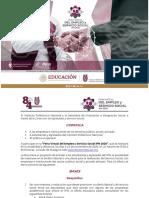 Convocatoria FVEySS IPN 2020