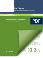 CA CalPERS 2010 Comprehensive Annual Financial Report.