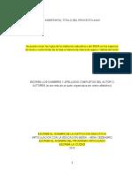 Plantilla Final Proyecto Escrito Agricola 2020