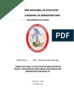 DIRECTIVA SOLICITUD AMPLIACION DE PLAZO Y ADICIONALES DE OBRA EJECUTADAS POR ADMINISTRACION DIRECTA.docx